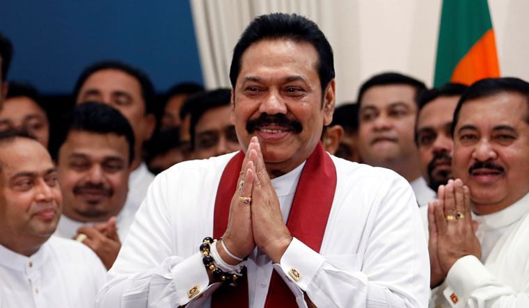 Sri Lanka: Rajapaksa assumes charge as new PM