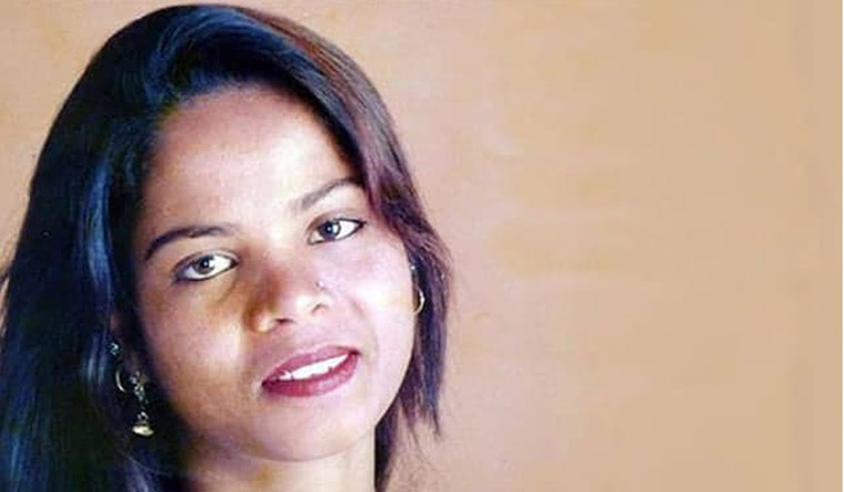 [File] Asia Bibi, who had been on death row in Pakistan since 2010 | AFP