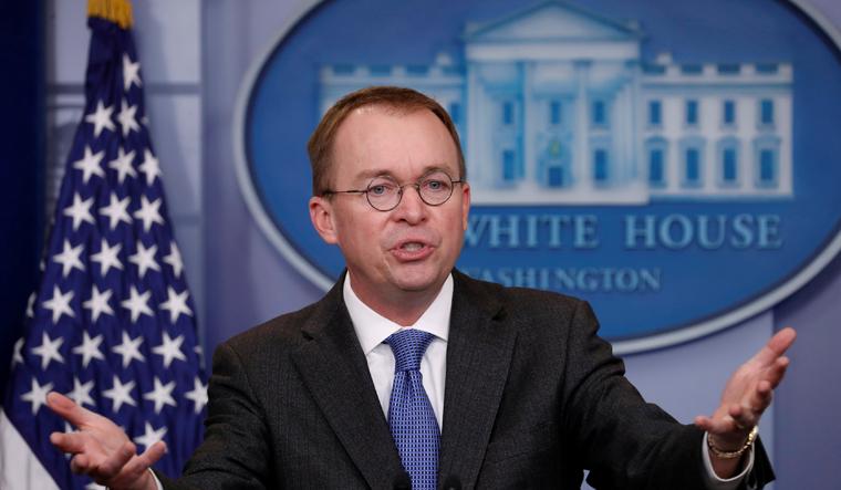 Trump picks budget expert Mick Mulvaney as chief of staff
