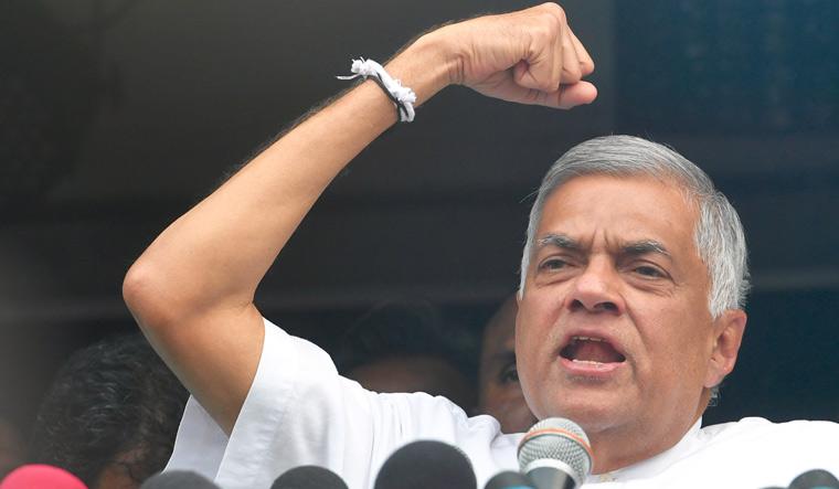 Ranil Wickremesinghe takes oath as Sri Lanka's PM