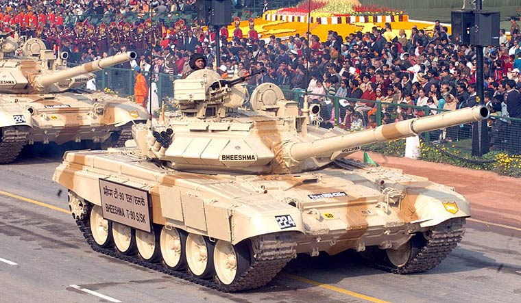 T-90 tank India commons