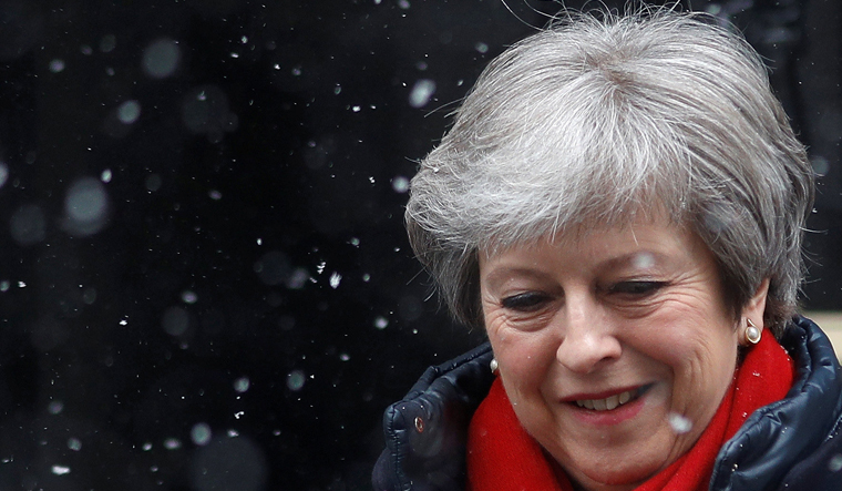 May to set out plan for free trade deal