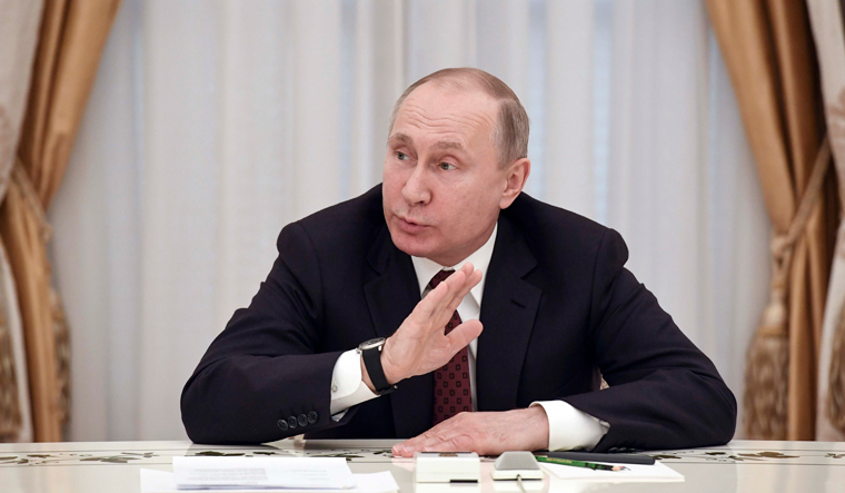 Putin Expresses Gratitude to Voters After Winning Controversial Presidential Election