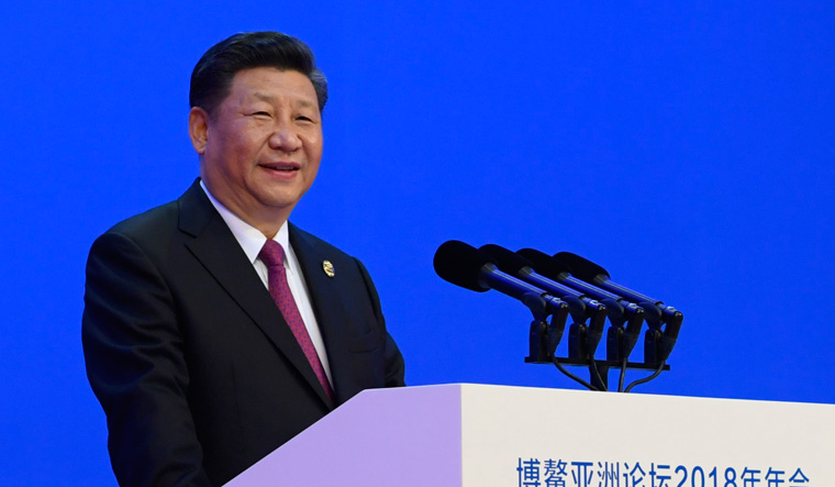 Xi Jinping at Boao AP