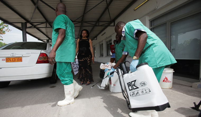 Congo health ministry confirms 2 Ebola cases in new outbreak