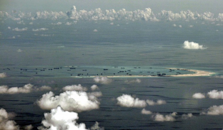 south china sea reuters
