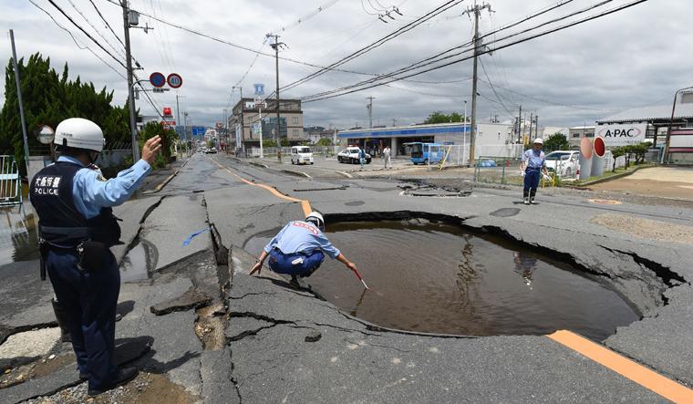 Magnitude 6.1 quake kills three in Japan's Osaka area