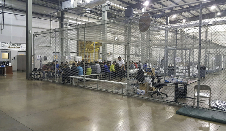 Heartbreaking recording of children separated from families at US border