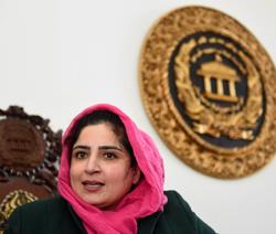 Anarkali Kaur Honaryar, a senator in the Upper House | Sanjoy Ghosh