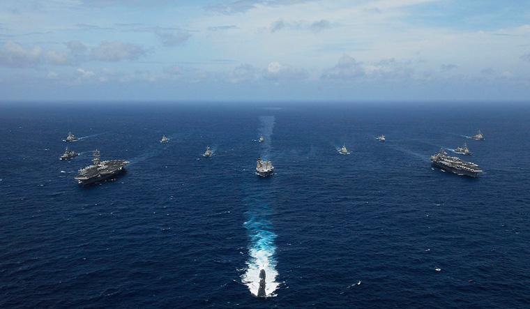 malabar naval exercise