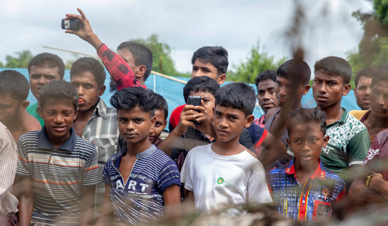 Rohingya refugees face 'catastrophic' cyclone threat after months of monsoons