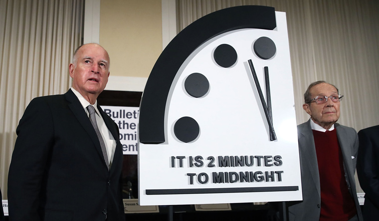 Doomsday Clock says it's almost the end of the world