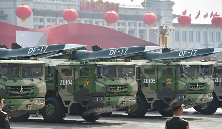 DF-17 missile MOD China