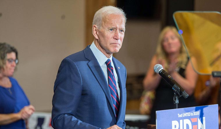 US-PRESIDENTIAL-CANDIDATE-JOE-BIDEN-CAMPAIGNS-IN-NEW-HAMPSHIRE