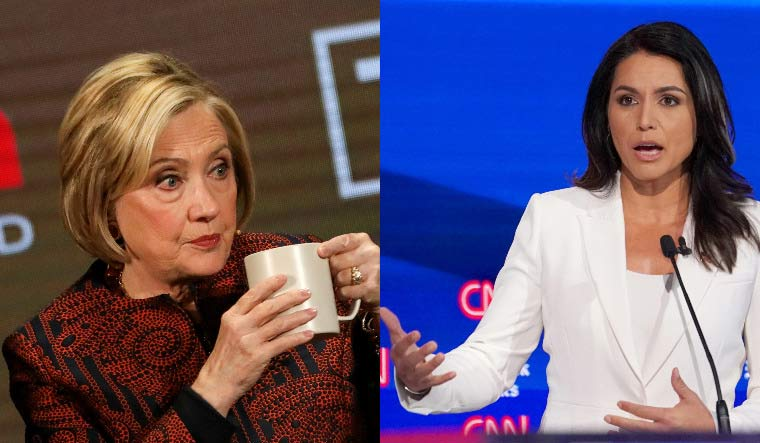 Tulsi tears into 'queen of warmongers' Hillary over Russia remarks