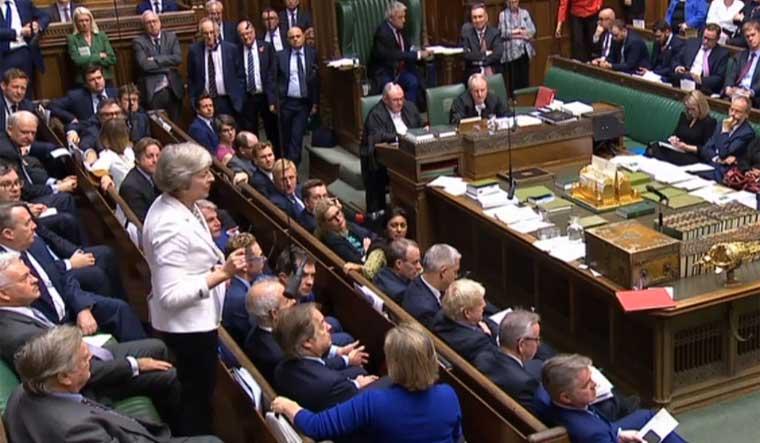 British MPs vote for Brexit delay in historic 'Super Saturday' Parliament session