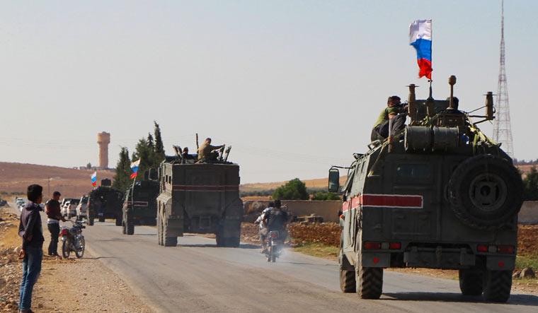 russia-armoured-kobane-syria-AFP