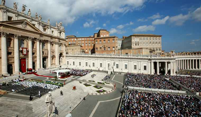 Vatican officials suspended over probe - English