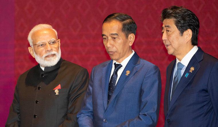 Modi-Joko-Widodo-Shinzo-Abe-ASEAN-RCEP-AP