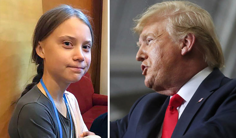 Greta Thunberg changes Twitter bio after Trump tells her to 'chill'