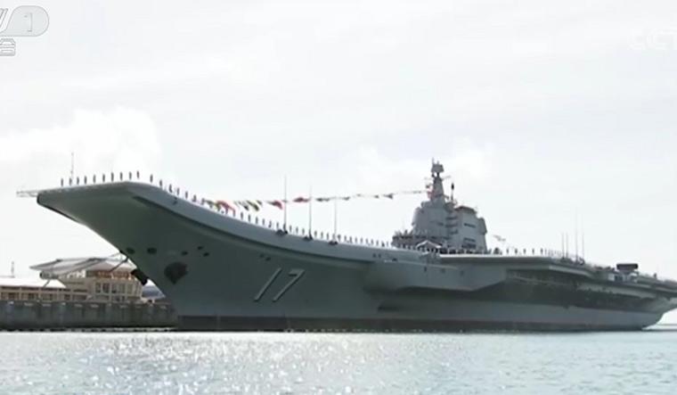 China-aircraft-carrier-Shandong-CCTV