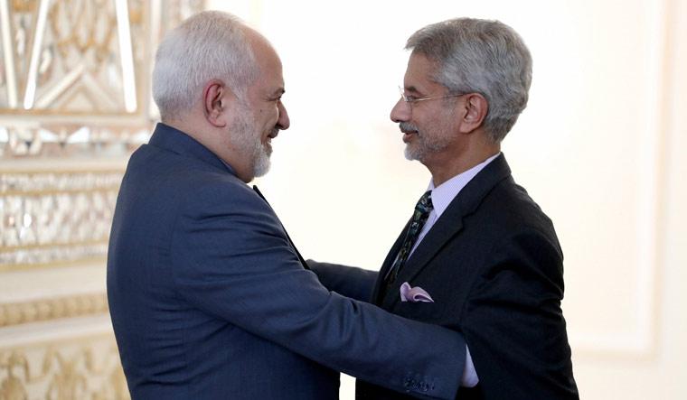 Javad-Zarif-Jaishankar-India-Iran-AP