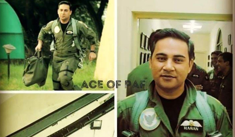 Squadron leader Hassan Siddiqui Twitter