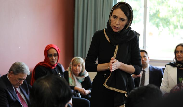 Jacinda Ardern hijab Reuters