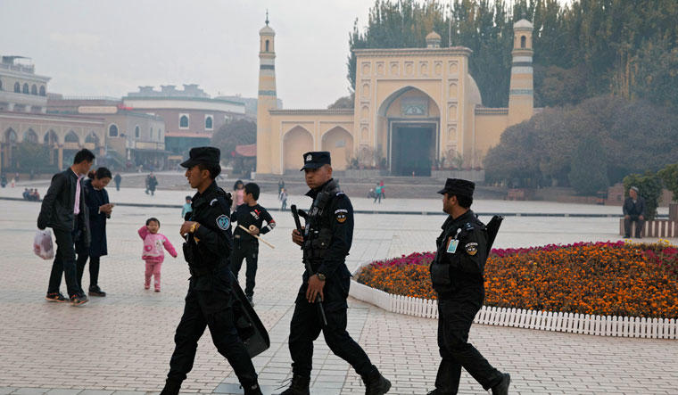 12,995 terrorists arrested in Chinas Xinjiang