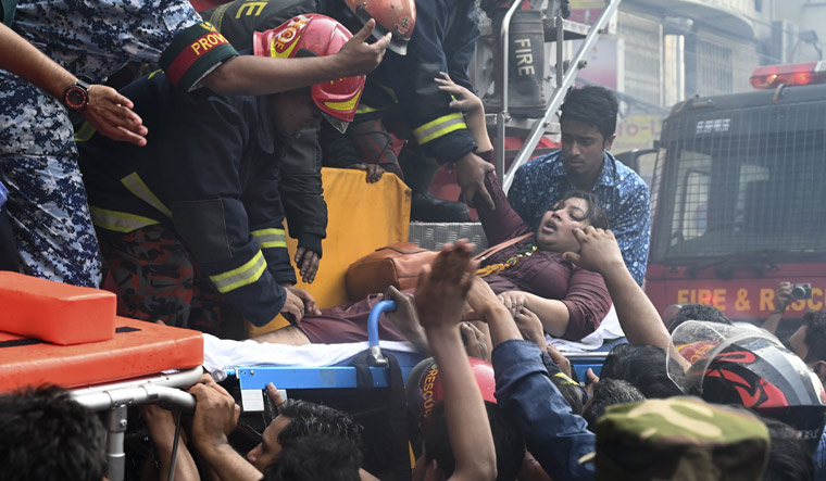 Bangladesh fire death toll rises to 25: officials