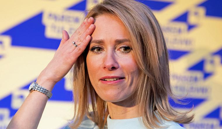 Kaja Kallas: Liberal victory sets Estonia on course for first woman PM