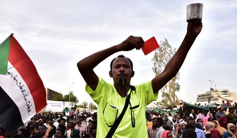 AFP-Civilians-Protest-Sudan