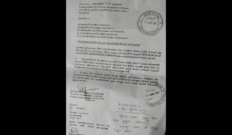 Sri Lanka blasts: Did state fail to act on intelligence report?