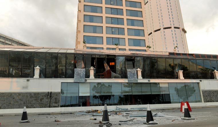 Indians at Shangri-La saw fellow guests injured by huge shrapnel