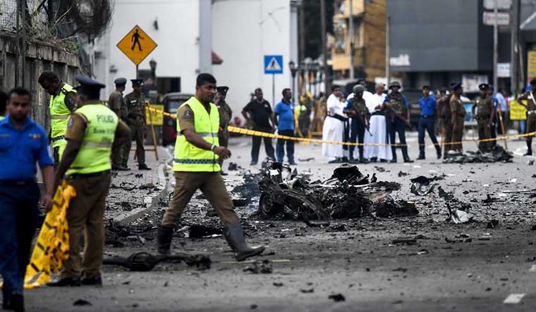 Islamic State claims responsibility for Sri Lankan suicide bombings