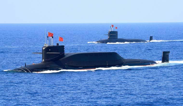 Chinese submarines
