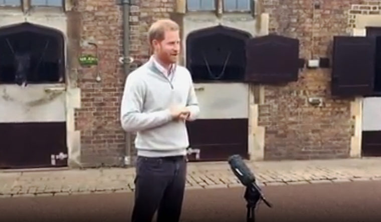 Prince Harry says there was 'no choice' but to give up royal titles