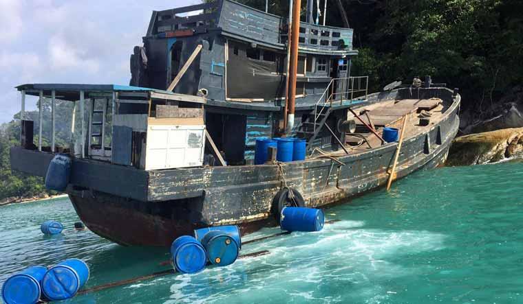 THAILAND-MYANMAR/ROHINGYA