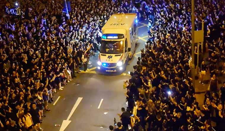 HongKong-Protesters-Let-Ambulance-Through-Reuters
