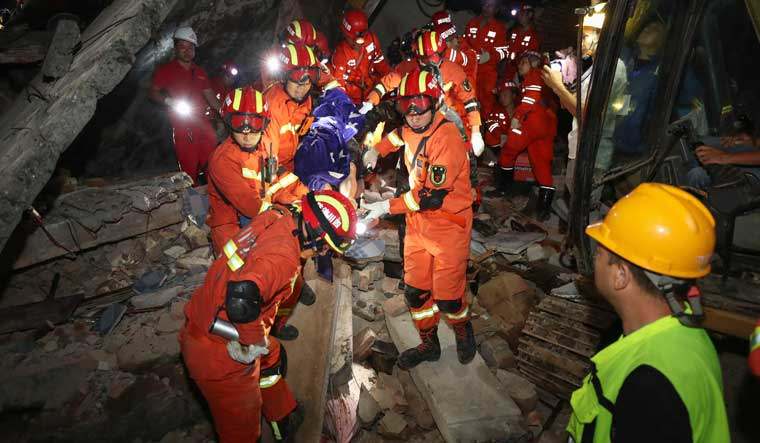 11 dead, 122 injured as two earthquakes jolt China's Sichuan province