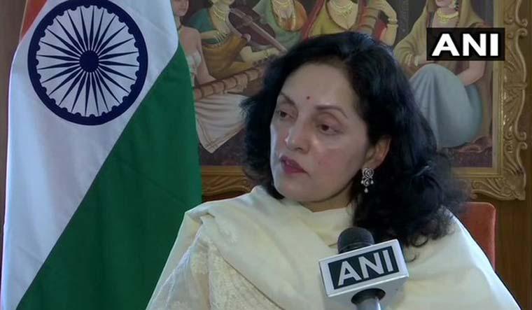 Indian ambassador to Bhutan Ruchira Kamboj | Twitter/ANI