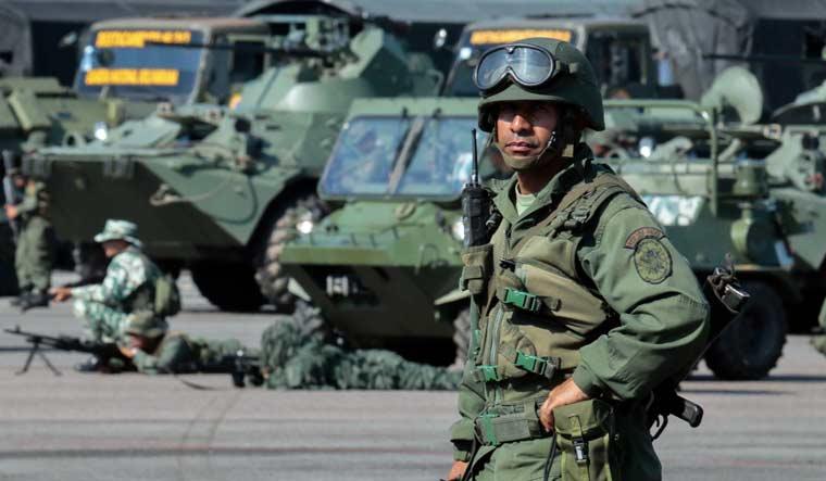 VENEZUELA-CRISIS-MILITARY-EXERCISES