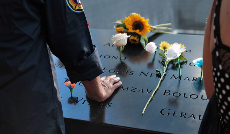 US-NEW-YORK-CITY-COMMEMORATES-18TH-ANNIVERSARY-OF-THE-9/11-TERRO