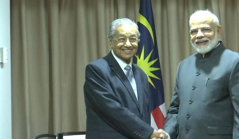Modi Mahathir EEF ANI