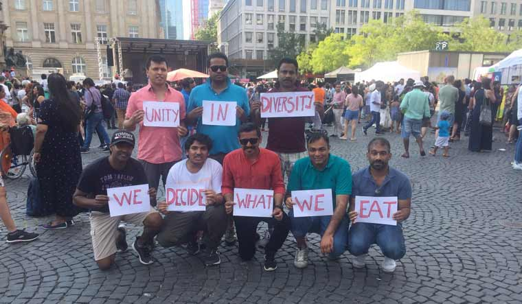 Malayalis in Germany told to remove beef from menu at Indian fest, stage silent protest