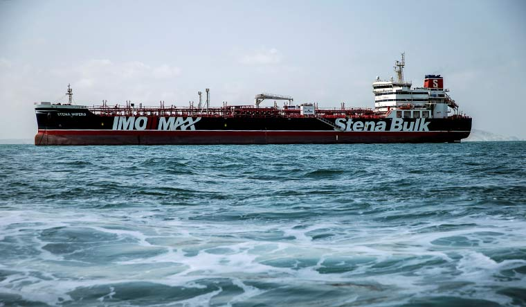 Iran may release British-flagged tanker within hours, Swedish owner says