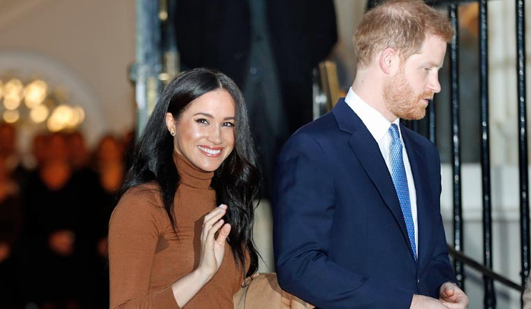 Prince Harry and Meghan share Christmas card