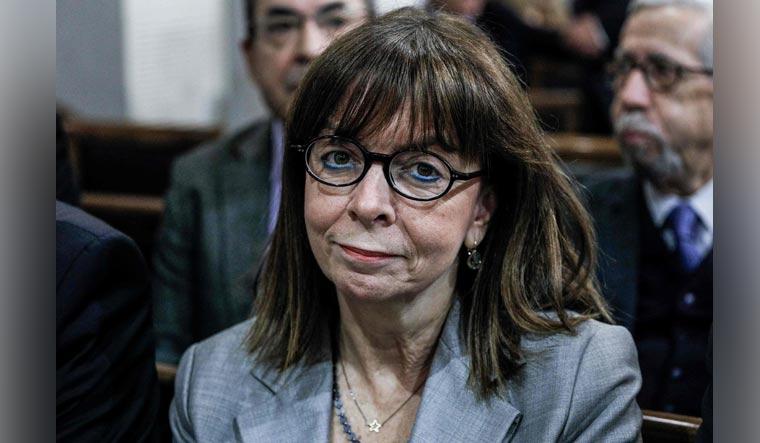 Ekaterini-Sakellaropoulou-Eurokinissi-AFP
