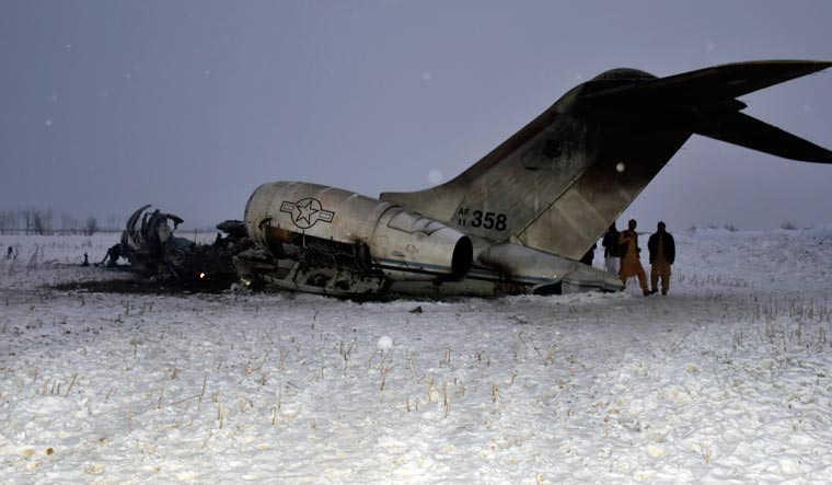 USA  military recovers remains from Afghanistan plane crash: defense official
