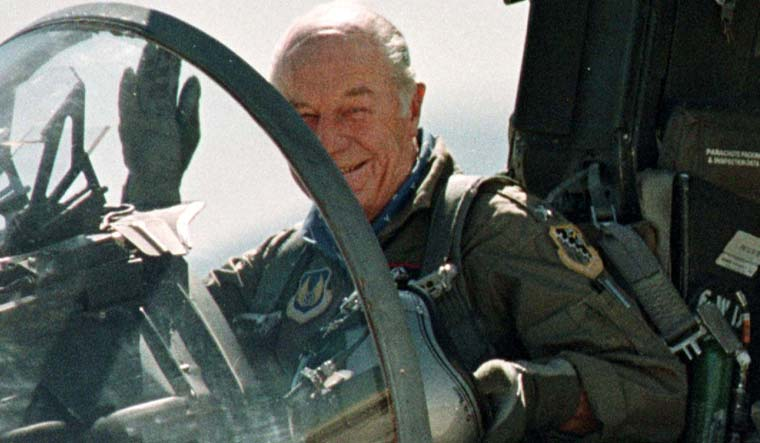 Aviation legend Chuck Yeager dies age 97
